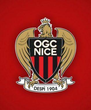 Logo du club de football de l'OGCN (Olympique Gymnaste Club Nice)
