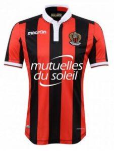 Maillot de football de l'OGCN (Olympique Gymnaste Club Nice) saison 2019-2020
