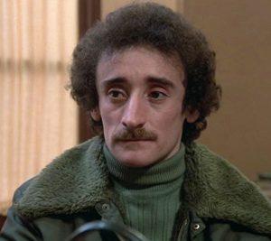 """L'acteur français Michel Crémadès dans """"Les ripoux"""", le film de Claude Zidi (1984)"""
