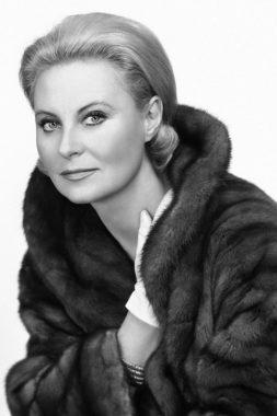 L'actrice française Michèle Morgan
