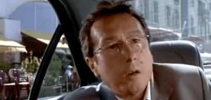 """L'acteur français Philippe de Janerand dans """"Taxi"""" de Gérard Pirès (1998)"""