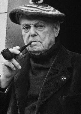 L'écrivain français Pierre Mac Orlan