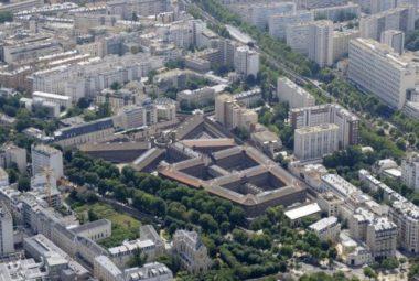 Prison de la Santé à paris (75). Dernier établissement pénitentiaire intra-muros de la capitale française