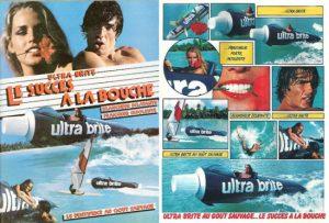 """Publicités de presse écrite pour le dentifrice """"Ultra Brite"""""""