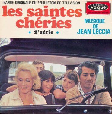 """Disque de la bande originale du feuilleton de télévision """"Les saintes chéries"""" (2e série)"""