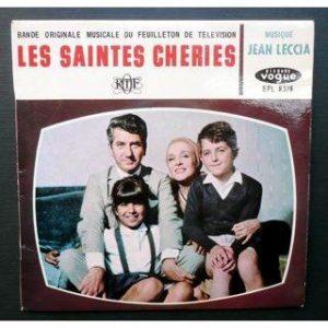 """Disque de la bande originale du feuilleton de télévision """"Les saintes chéries"""""""