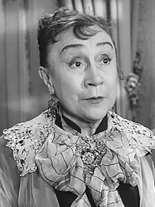 L'actrice française Jeanne Fusier-Gir