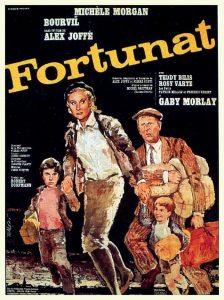 """Affiche du film français """"Fortunat"""" de Alex Joffé (1960)"""