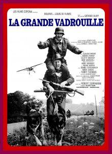 """Affiche du film français """"La grande vadrouille"""" de Gérard Oury (1966)"""