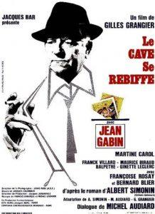 """Affiche du film français """"Le cave se rebiffe"""" de Gilles Grangier (1961)"""
