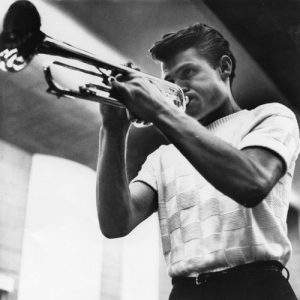 Le musicien de jazz états-unien Chet Baker