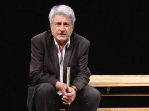 L'acteur, metteur en scène et directeur de théâtre français Didier Bezace