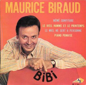 Disque de Maurice Biraud (1967)