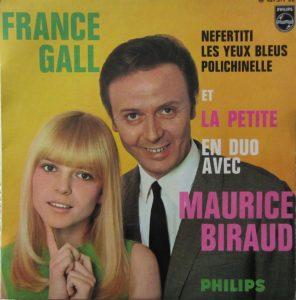 Disque de Maurice Biraud et France Gall (1967)