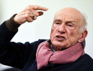 Le sociologue et philosophe français Edgar Morin
