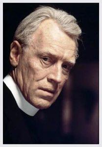 """L'acteur suédois Max von Sydow dans le film """"lexorciste"""" de William Fridekin (1975)"""
