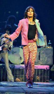 Le chanteur britannique des Rolling Stones Mick Jagger