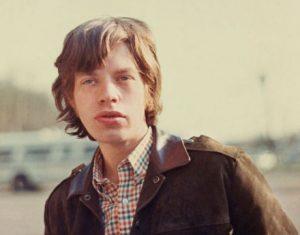 Le chanteur britannique des Rolling Stones Mick Jagger, en 1965