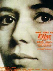 """Affiche du film français """"Élise ou la vraie viel"""" de Michel Drach (1970)"""