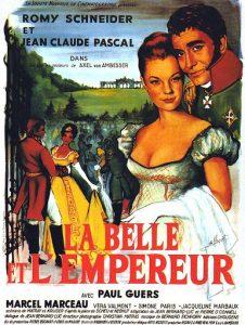 """Affiche du film français """"La belle et l'empereur"""" de Axel von Ambesser (1959)"""