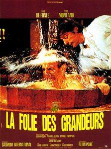 """Affiche du film français """"La folie des grandeurs"""" de Gérard Oury (1971)"""