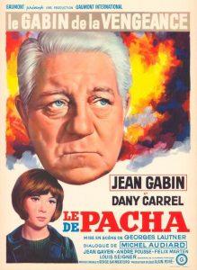 """Affiche du film français """"Le pacha"""" de Georges Lautner (1968)"""