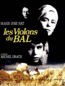 """Affiche du film français """"Les violons du bal"""" de Michel Drach (1974)"""