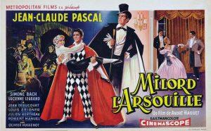 """Affiche du film français """"Milord l'arsouille"""" de André Haguet (1955)"""