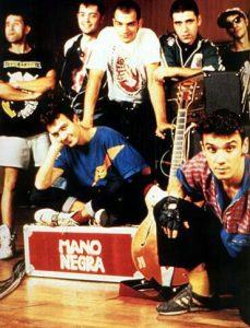 Le groupe français Mano Negra