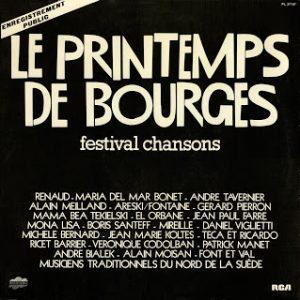 """""""Le Printemps de Bourges 78"""", compilation enregistrée en public entre le 12 et le 16 avril 1978. Double-disque 33 tours RCA"""