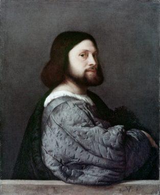 Le poète italien Ludovico Ariosto dit L'Arioste (8 septembre 1474 - 6 juillet 1533)