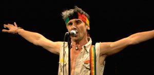 Le chanteur français Manu Chao