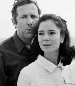 L'actrice française Marie-José Nat et son deuxième mari, le réalisateur français Michel Drach