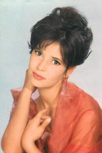 L'actrice française Marie-José Nat
