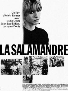 """Affiche du film suisse """"La salamandre"""" de Alain Tanner (1971)"""