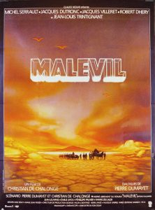 """Affiche du film français """"Malevil"""" de Christian de Chalonge (1981)"""