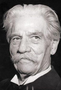 Le Dr Albert Schweitzer