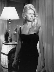 L'actrice française Brigitte Bardot