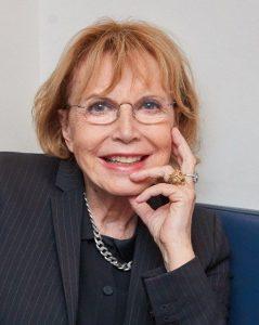 L'actrice française Bulle Ogier