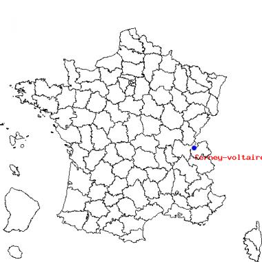 Localisation de Ferney-Voltaire (01)