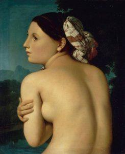 La baigneuse de Jean-Auguste-Dominique Ingres (1807)