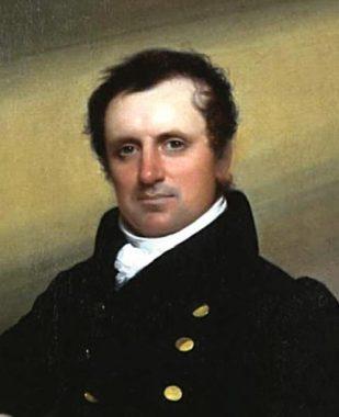 Le romancier états-unien James Fenimore Cooper
