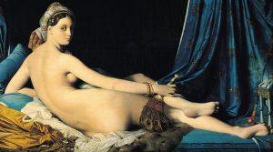 La Grande Odalisque par Jean-Auguste-Dominique Ingres (1814)