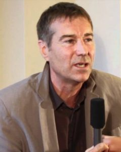 Le géologue et écrivain français Olivier Merle