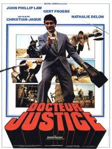 """Affiche du film français """"Docteur justice"""" de Christian-Jaque (1975)"""