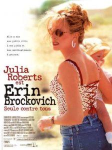 """Affiche du film états-unien """"Erin Brockovich"""" de Steven Soderbergh (2000)"""