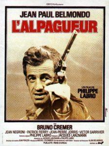 """Affiche du film français """"L'alpagueur"""" de Philippe Labro (1976)"""