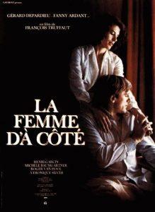 """Affiche du film français """"La femme d'à côté"""" de François Truffaut (1981)"""