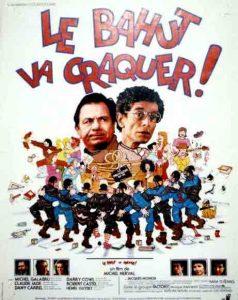 """Affiche du film français de Michel Nerval """"Le bahut va craquer"""" (1980)"""