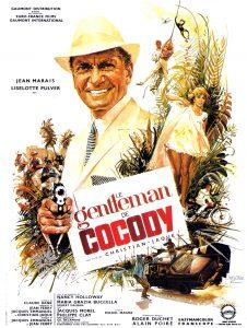 """Affiche du film français """"Le gentleman de Cocody"""" de Christian-Jaque (1964)"""